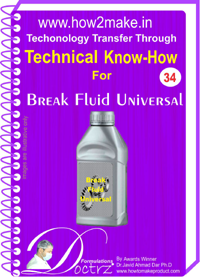 Technical knowHow report for Brake fluid universal (TNHR 34))