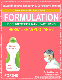 Herbal shampoo type 2(Formula no 340)