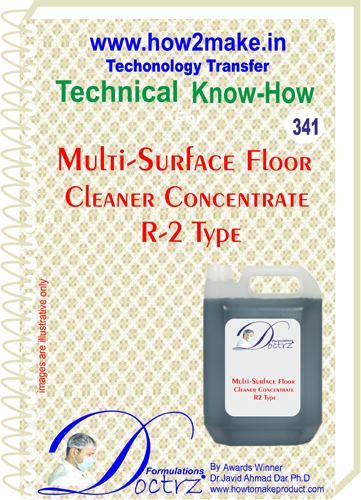 Multi-Surface Floor Cleaner Concentrate R-2 Type (TNHR341)