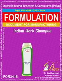 Indian herb shampoo formula (FOR 3416)