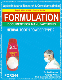 Herbal tooth powder type 2(formula No 344)