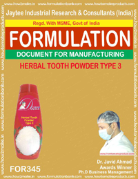 Herbal tooth powder type 3(formula No 345)