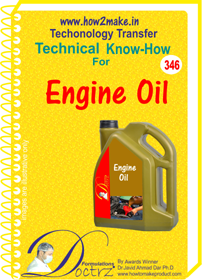 Lubricating Oil General Purpose technical know-how(TNHR 346)