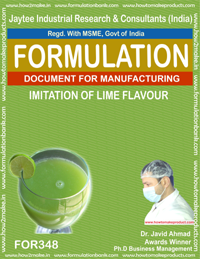 Imitation of lime flavor(formula No 348)