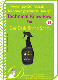 technical knowHow report for car dash Spray polish (TNHR 35)