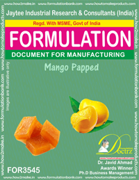 FORMULATION OF MANGO PAPPED (FOR 3545)