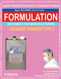 Lacquer thinner type 2 (formula No 355)
