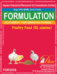 Poultry Feed (DL-alanine) Formula (FOR 3558)