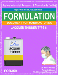 Lacquer thinner type 6 (formula No 359)