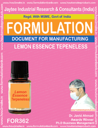 Lemon Essence terpenless (Formula 362)