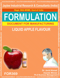 Apple flavor liquid (Formula No 369)