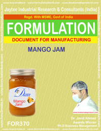 Recipe of Mango jam (Formulation 370)