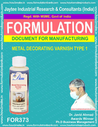 Metal decorative varnish type 1 (Formula 373)