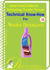 Technical knowHow report for Woollens special detergen(TNHR 38)