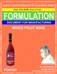 Mixed fruit wine(formula 380)