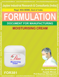 Moisturizing cream (Formula 381)