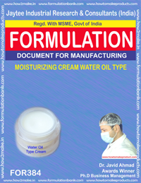 Moisturizing cream water-oil type (Formula 384)