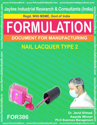Nails lacquer type 2( Formulation no 386)