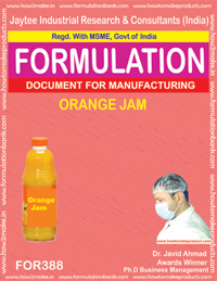 Recipe of Orange jam (Formula 388)