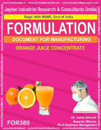 Orange juice concentrate (formula 389)
