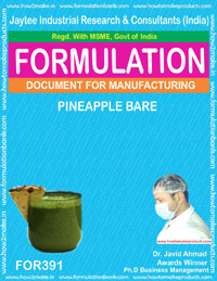Recipe pine apple bear (formula 391)