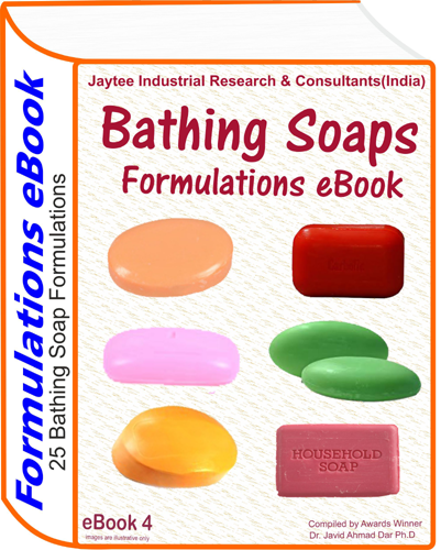 Bathing soaps manufacturing formulations eBook(eBook 4)