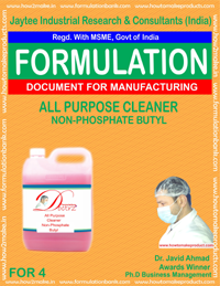 All Purpose Cleaner Non-Phosphate Butyl Cleaner (Formulation 4)