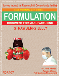 Strawberry jelly (Formula No 407)
