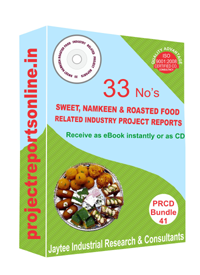 Sweet & Namkeen Industry Related 33 Project Reports