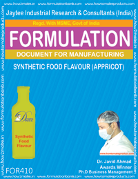 Synthetic food flavor appricot (formula 410)