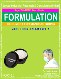 Vanishing cream (formula no 415)