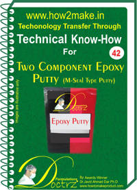 Technical knowHow for making( 2 parts) epoxy putty (TNHR 30)