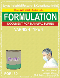 Varnish (Formula no 430)