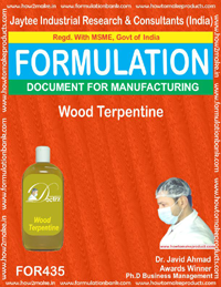 Wood turpentine (formula 435)