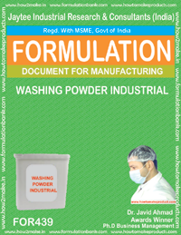 Industrial washing powder (formula 439)