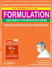 Creosote emulsion wood preservative (formula no 441)