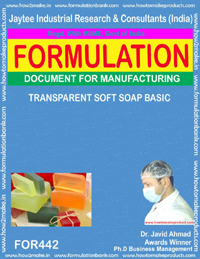 Transparent soft soap (Formula No 442)
