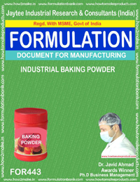 Baking powder industrial (formula no 443)