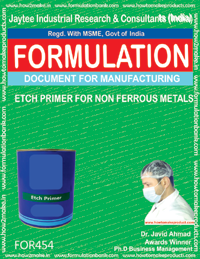 Etch primer for non ferrous metals(Formulation 454)