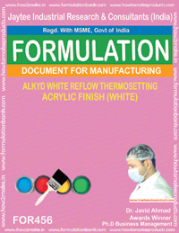 Alkyd white refellow thermosetting acrylic finish(456)