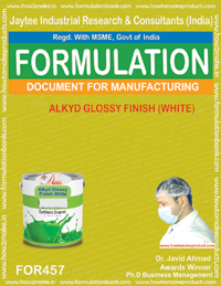 Alkyd glossy finish white (Formula no 457)