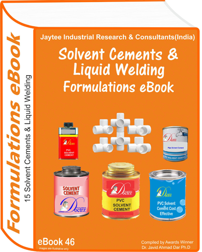 Solvent Cements and Liquid Welding Formulations eBook (eBook46)