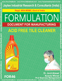 Acid Free Tile Cleaner