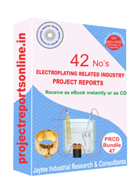 Electroplating Industry Related 42 Project Reports