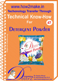 Technical knowHow report for Detergent powder making (TNHR 47)