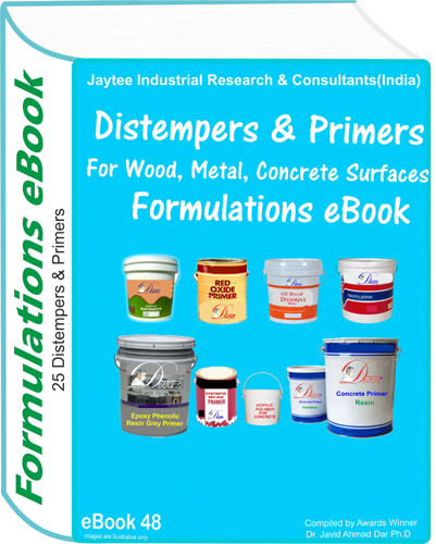 Distempers and Primers Formulations eBook (eBook48)