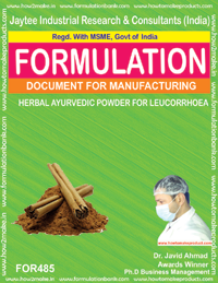 Herbal ayurvedic powder for leucorrhoear (for 485)