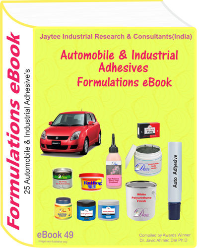 Automobile And Industrial Adhesives Formulations (eBook49)
