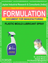 Plastic Mould Lubricant Spray Formula 509