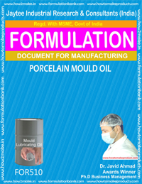 Porcelain Mould Oil